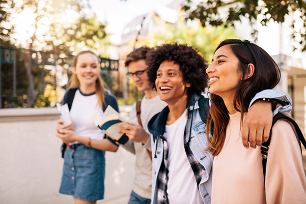student credit card - with friends