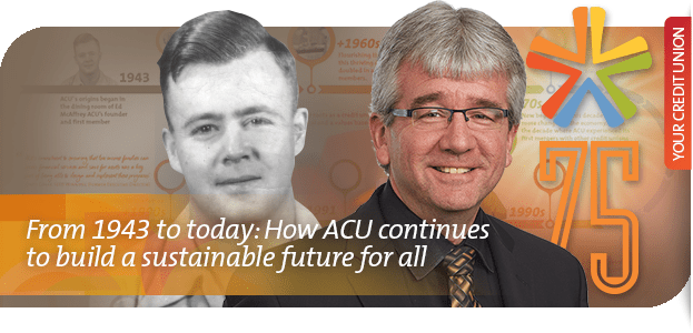 ACU from 1945 to today - Building a sustainable future