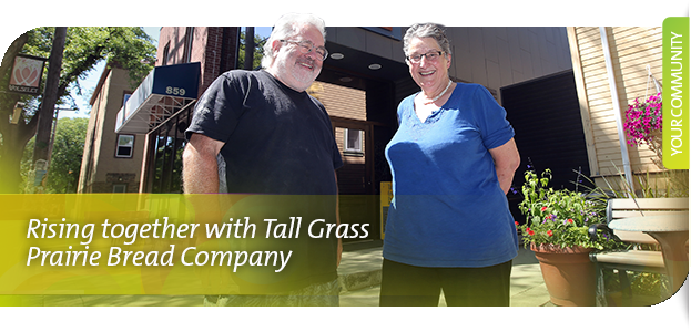 Rising together with Tall Grass Prairie Bread Company