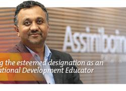 Earning the esteemed designation as an International Development Educator