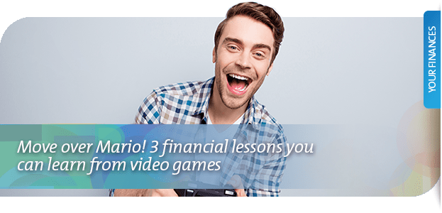 3 financial lessons you can learn from video games