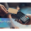 Contactless ways to pay — and stay safe