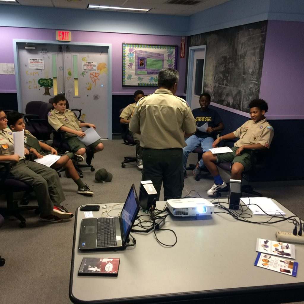 Merit Badge Clinic In The West End