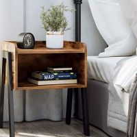 Bedside Table for a Loud Alarm and Fresh Mornings