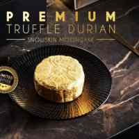 Mouth Melting and Chewy Snow Durian Mooncakes