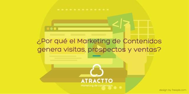 El marketing de contenidos genera visitas