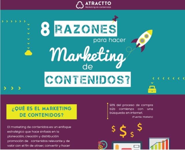 razones para hacer marketing de contenidos