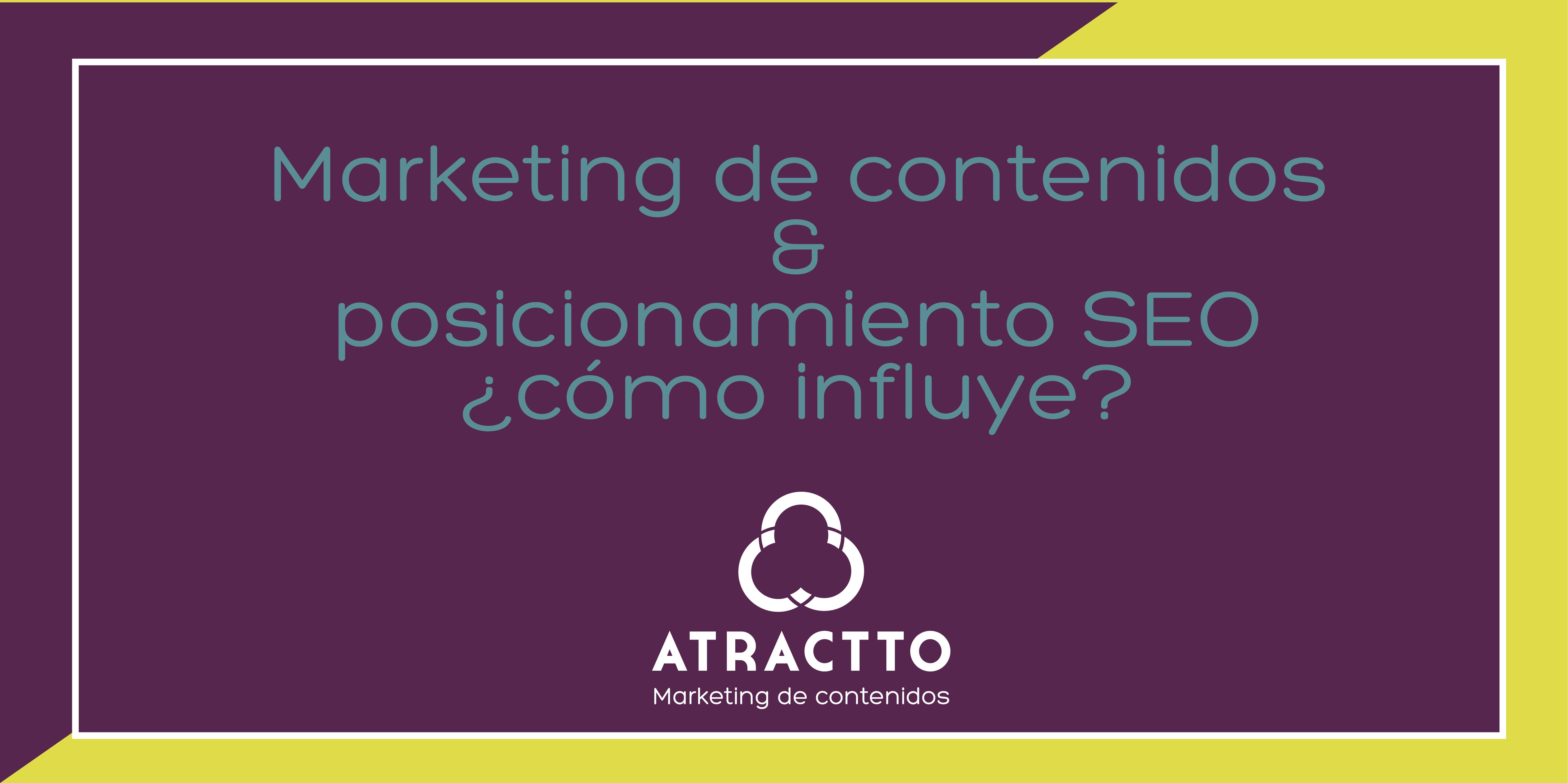 marketing de contenidos y posicionamiento SEO