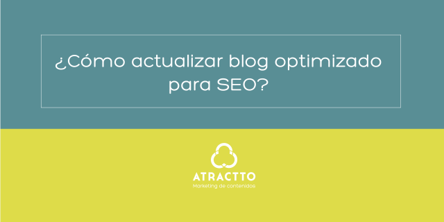 actualizar blog optimizado para seo