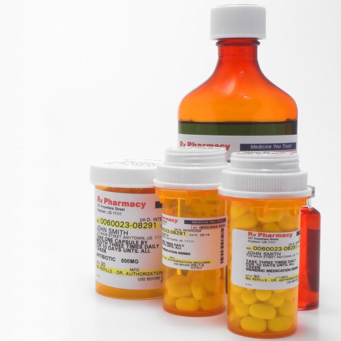 Making sense of a prescription medicine label atrius for Small pill bottles