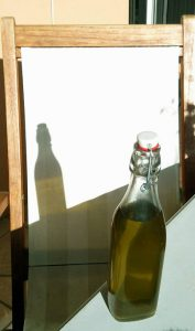 huile parfumée au basilic
