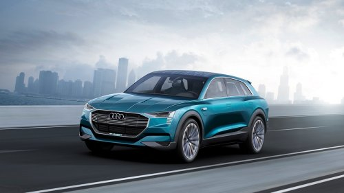 small resolution of is that the audi q6 audi e tron quattro concept unveiled at frankfurt motor show