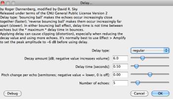 Audacity: Need Distortion? Use Leveller (Mac OS X) | AudioAcrobat