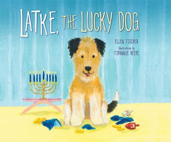 Latke, the Lucky Dog.