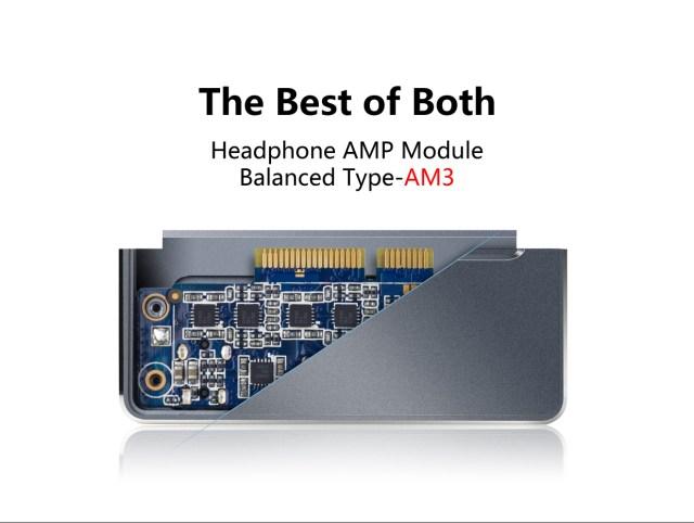 Le FiiO AM3 est un module d'amplification monté en circuit symétrique.