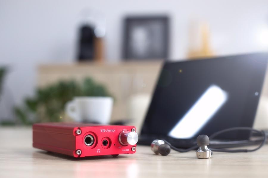 EarMen TR-AMP + Laptod