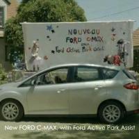 Dernière pub Ford C-Max : même un chien peut garer une voiture!