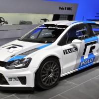 WRC-Volkswagen Polo R au Salon de Genève 2013