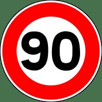 Quels sont les départements qui rétablissent les 90 km/h sur leurs routes ?
