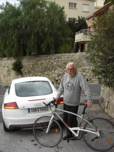 Johnny Rives, le vélo et l'Audi TT S