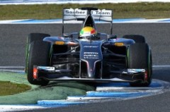 Formula One Testing, Jerez, Spain, Day Two, Wednesday 29 January 2014.