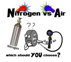 nitrogen vs compressed air in your tires