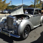 gray and silver classic coupe waynesville chevy 3rd disabled american veteran car show