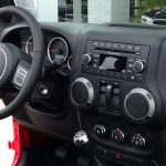 2014 Jeep Wrangler Willys Wheeler dash and center stack picture