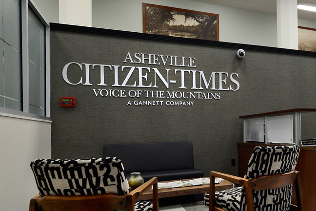 asheville citizen times lobby