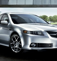 front view of a silver acura tl type s [ 1920 x 1080 Pixel ]