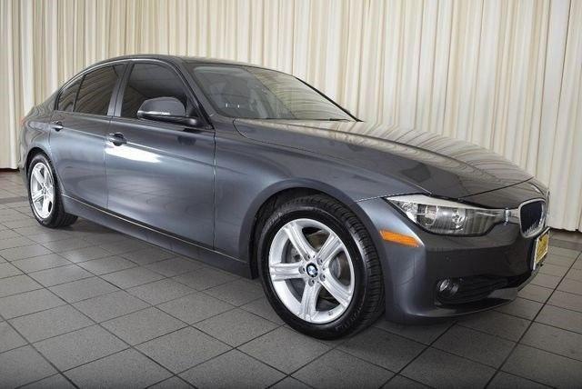 Gray 2014 BMW 328d sedan