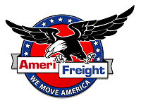 "AmeriFreight ""We Move America"" Logo"