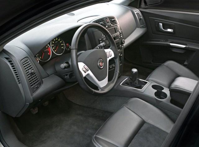 1st gen Cadillac CTS-V interior