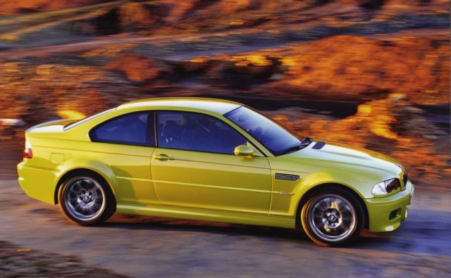 The E46 BMW M3 came in many exciting colors, but Phoenix Yellow was probably the most outrageous.