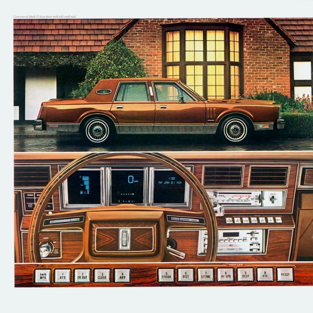 1981 Lincoln Continental Mark VI-14