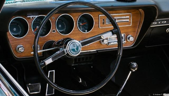 Pontiac GTO interior