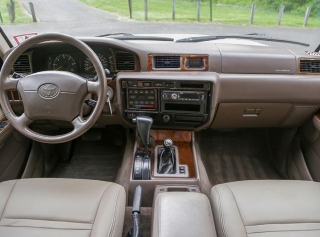 1997 Land Cruiser interior
