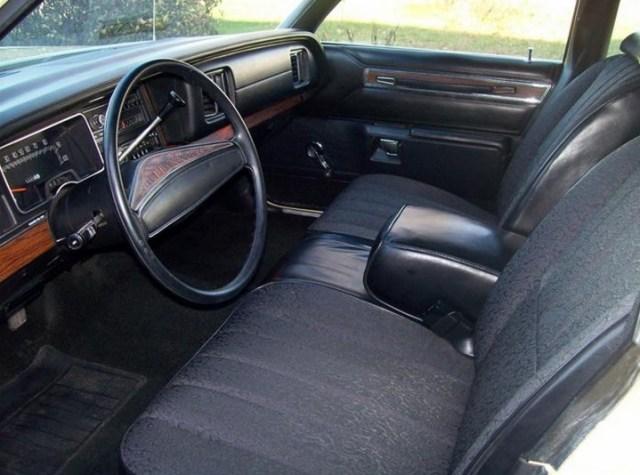 1977 Dodge Monaco Brougham Interior