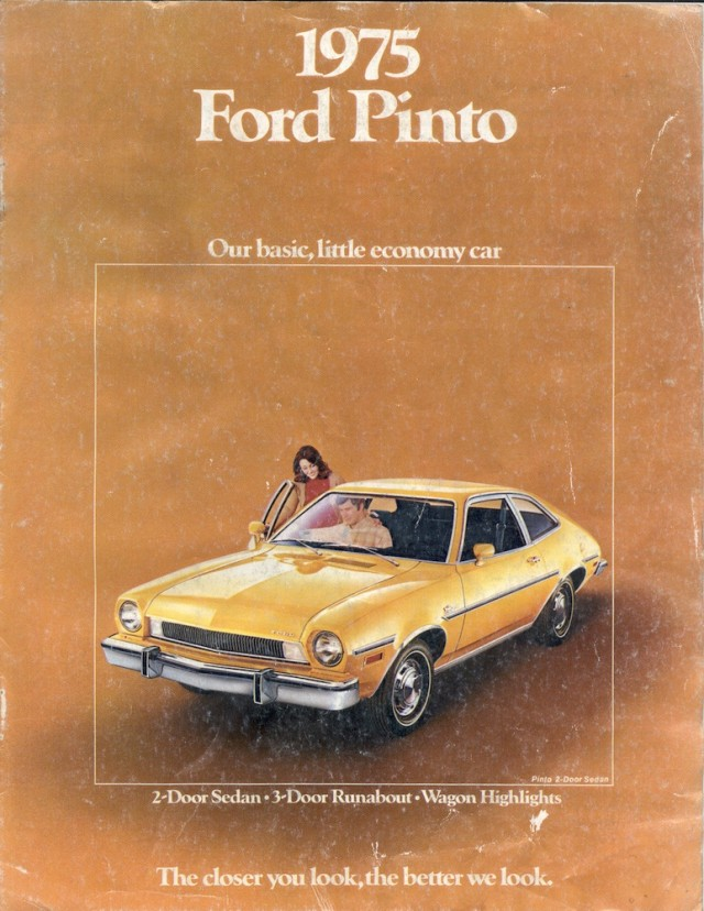 1975 Ford Pinto ad