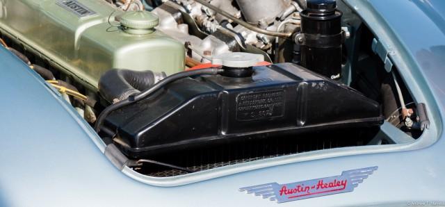 Austin Healy 3000 engine bay