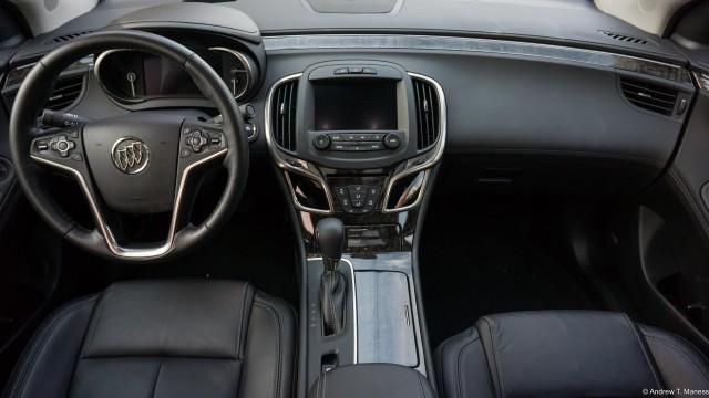 2015 Buick LaCrosse interior