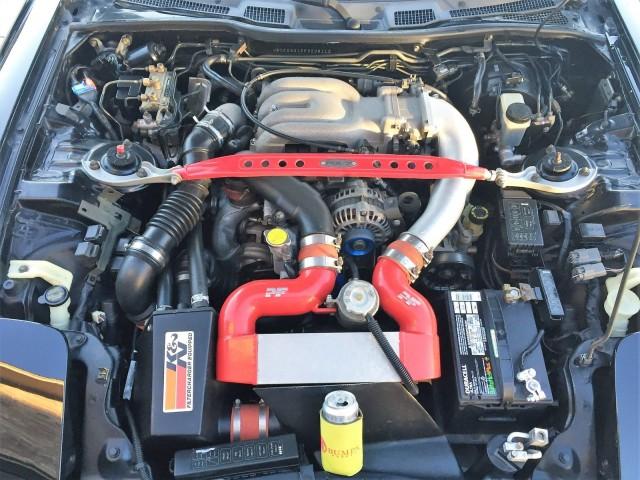 1993 Mazda RX-7 engine bay