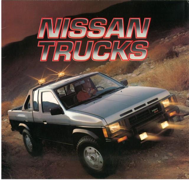 1987 Nissan D21 pickup brochure