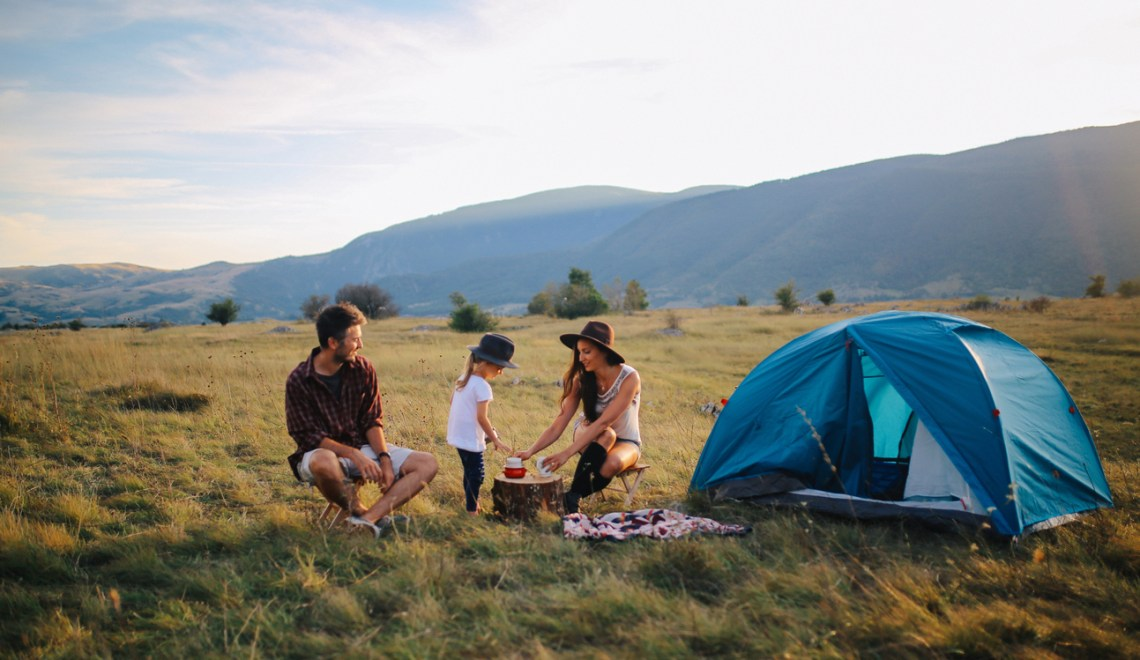 Visit an Amazing National Park for your Summer Camp-Out!