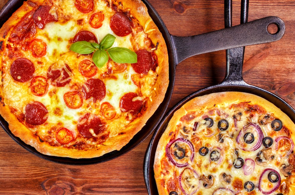 skillet pizza for rv recipes