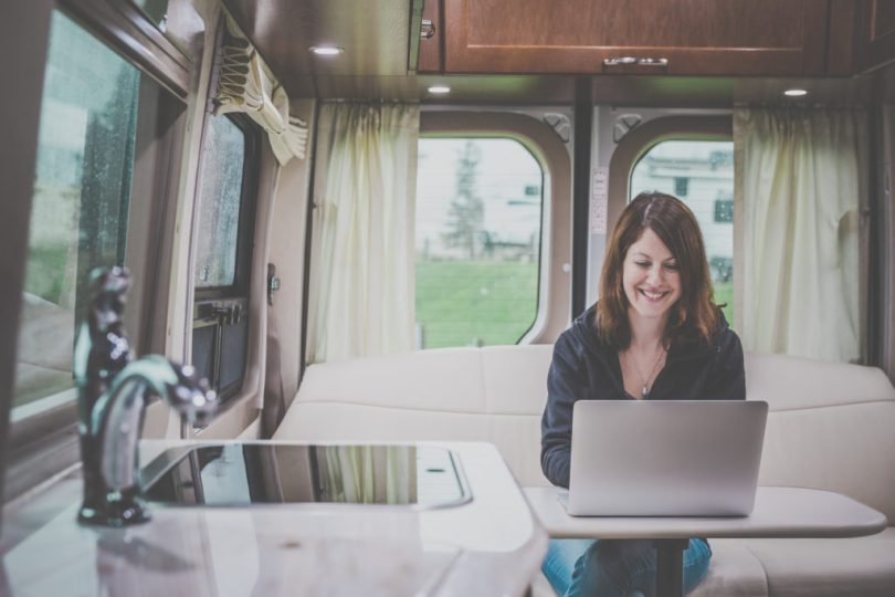 Work remotely from your RV