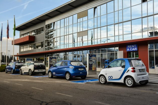 Avant2Go car sharing Brnik