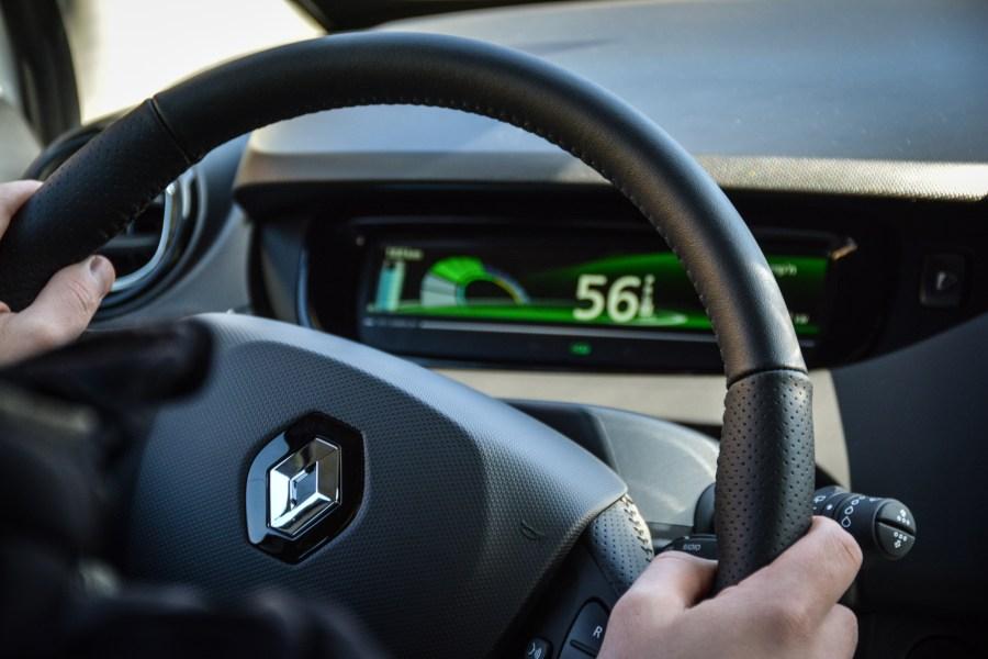 Renault Zoe ZE 40 interior