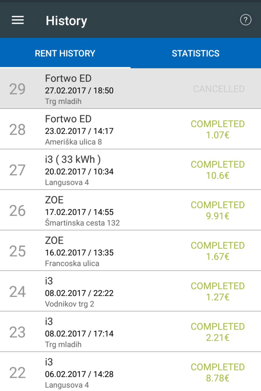 Avant2Go aplikacija