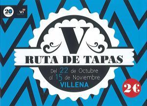 Ruta de Tapas Villena 2015